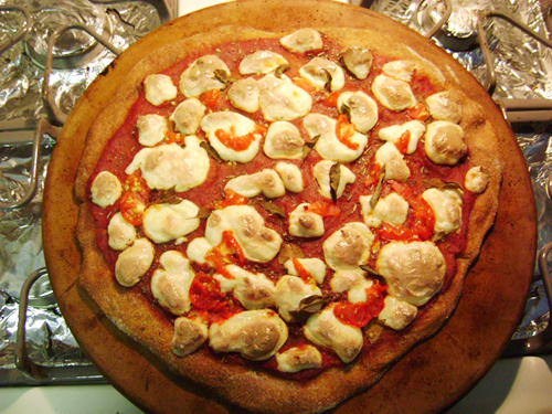 Fresh Mozzarella Pizza