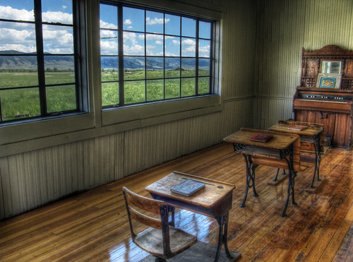 One Room School with a View