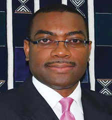 Akin Adesina, Nigerian Minister of Agriculture...