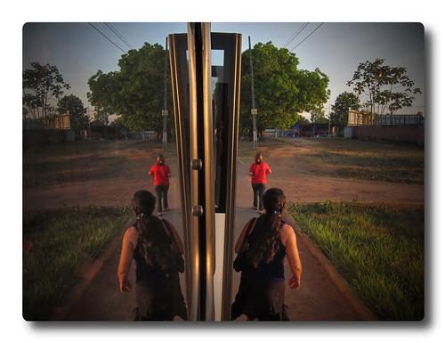 Rio Branco Bus Reflection #3