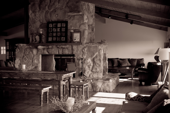 Lodge Dining & Living Room
