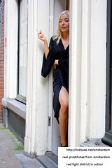 Blonde girl from Amsterdam RedLight District (visitinamsterdam) Tags: light red amsterdam sex slut district prostitute porn bitch hooker