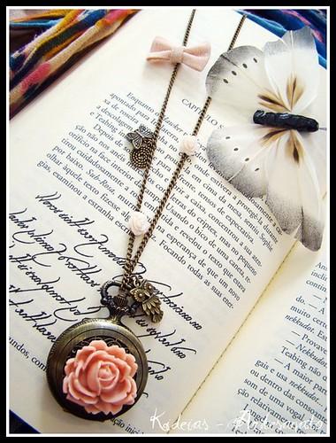 """♥ Delicate vintage...Time ♥"" by kideias - Artesanato"