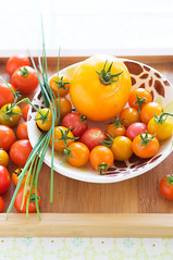 Les tomates (La tartine gourmande) Tags: summer love home vegetables garden tomatoes july tomates lgumes glutenfree latartinegourmande