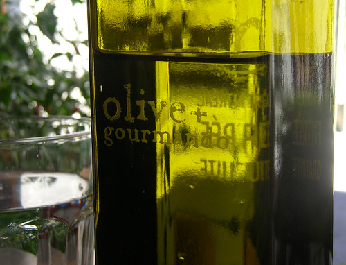 Olive and Gourmando water
