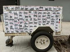 van down by the river (Underdestruction) Tags: nyc ny graffiti stickerart graf stickers postal base handstyles slaps handstyle baser underdestruction label228 nyctags grafstickers handstylesnyc nychandstyles