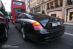 Cruisero (Richard de Heus) Tags: black london grey coupe coupé maybach 444 sloanestreet 57s xenatec cruisero