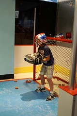 Friday: hockey goalie Ian