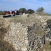 Ancient walls of Troy (Troia), Anatolia, Turkey