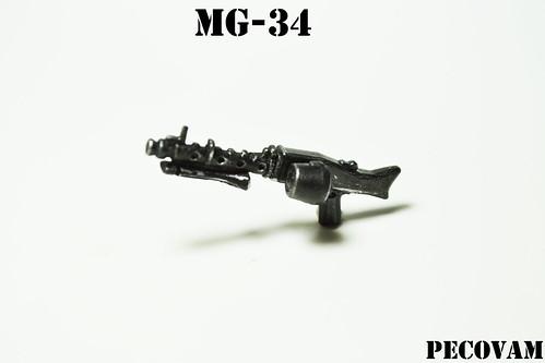 Custom minifig MG-34
