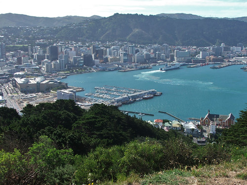 Wellington, Wellington Harbour, Wellington Ocean