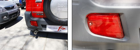 Zotye Nomand SUV Review | Rear View
