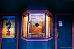 Ticket booth (Zorro1968) Tags: art rustic stock wa artforsale langley ticketbooth clydetheater