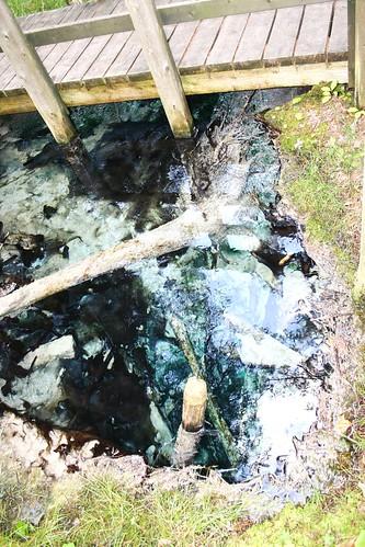 Sulfur spring Hanover Ontario