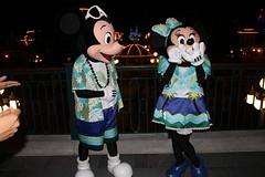 Meeting Beach Mickey and Minnie at Hong Kong Disneyland's Main Street Train Station (Castles, Capes & Clones) Tags: china hongkong disney mickeymouse minniemouse mainstreetusa disneycharacters hongkongdisneyland hongkongdisneylandresort mainstreettrainstation
