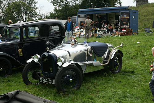 Austin Seven 584XUE in bare metal