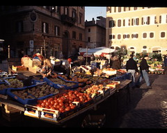 Piazza Campo De' Fiori (Penn State Libraries Pictures Collection) Tags: squares openspaces