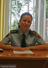 Polish Female Police / Police Fminine Polonaise (Barbies Land) Tags: woman sexy girl uniform martial femme group poland polska polish babe grade blonde nordic rank groupe officer uniforme polis sexie po