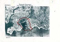 Millbay Docks (Plymouth History) Tags: cornwall map aircraft nazi plymouth aerial devon photograph german target bomb blitz bombing reich devonport secondworldwar stonehouse luftwaffe plymstock saltash torpoint