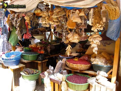 central market of copan ruinas in honduras