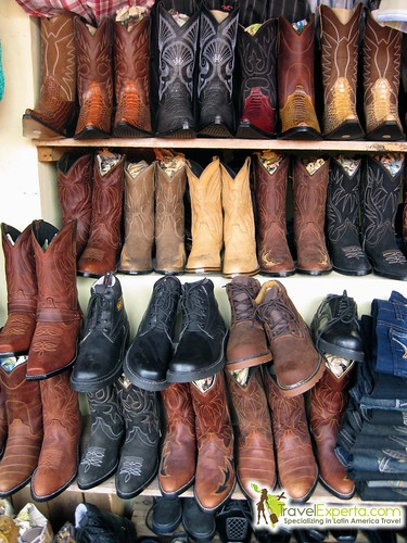 leather boots in copan honduras