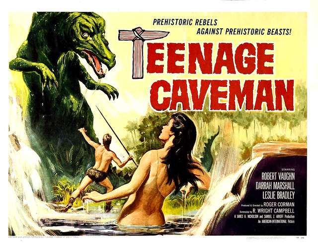 Reynold Brown - Teenage Caveman (American International, 1958) half sheet