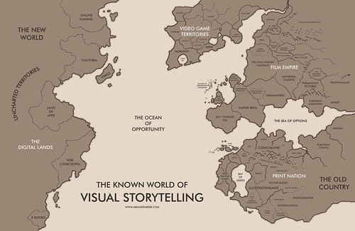 The Known World of Visual Storytelling