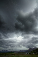 Dramatic sky over Iceland (pas le matin) Tags: light sky cloud clouds landscape island grey gris iceland islandia hiking lumire hike ciel nuage nuages paysage islande icelandic islanda dramatique menacant islandais icelandlandscape hikingiceland paysageislande