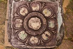 Banteay Srey (Citadel of the Women) (Keith Kelly) Tags: flower building stone architecture religious temple ancient sandstone asia cambodia southeastasia decoration ruin kingdom carving holy sacred kh siemreap angkor hindu banteaysrey laterite kampuchea citadelofthewomen rajendravarman late12thcentury banteaysreystyle