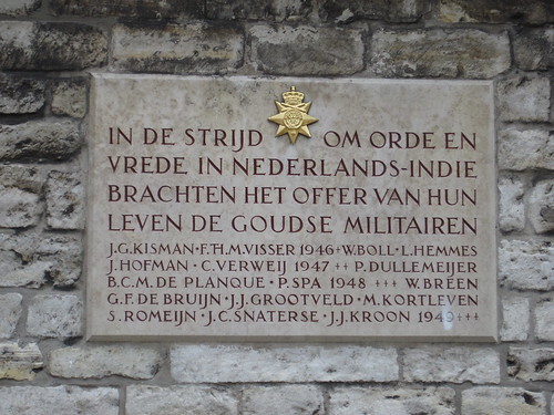 Plaque, Gouda town hall
