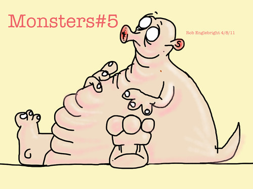 Monsters#5 by killercarrot