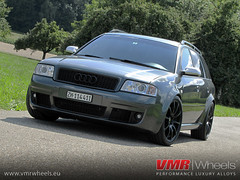 VMR Wheels V701 Matte Black - Audi RS6 (VMR Wheels Europe) Tags: black wheels audi 19 matte vmr rs6 alufelgen felgen v701 alurder