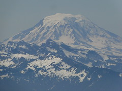 Zoom of Mt. Adams from Crystal Peak.