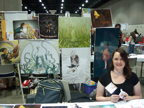 Artist Alley table 2
