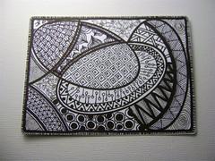 atc 4 (jellina-creations) Tags: atc artisttradingcard trade zentangle jellinacreations