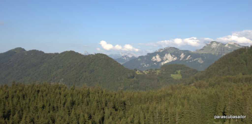 Le Mont Billiat, Dent d'Oche, Hermones