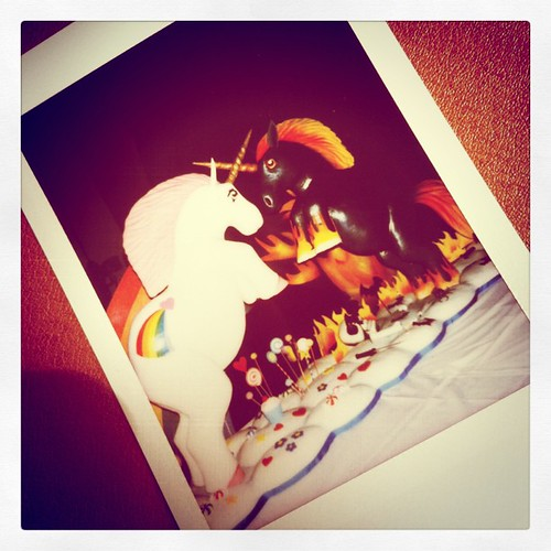 Polaroids, #Sparklecorn and #aceofcakes the end.
