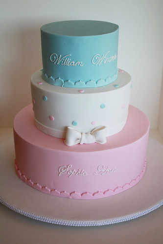 Christening cake by Louisa Morris Cakes