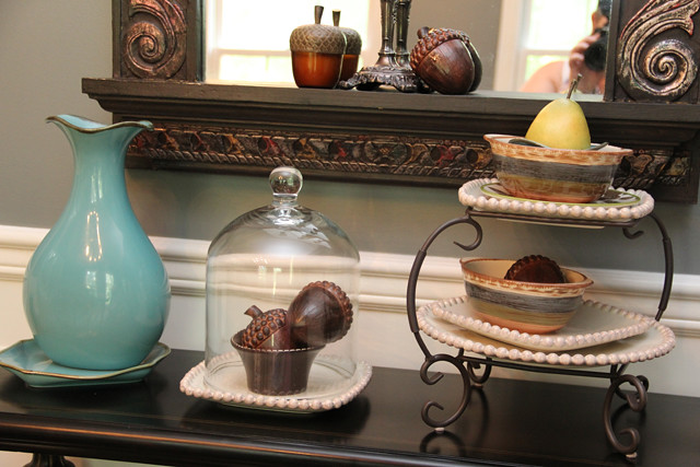 dining room side table display