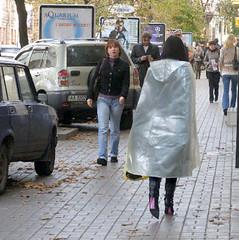 Plastic Raincoat (mallorcarain) Tags: fetish nice boots vinyl streetshots raincoat pvc bottes fakes stiefel raincape regenmantel ciré lackmantel imperméables