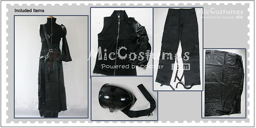 Final Fantasy VII Cloud Strife Cosplay Costume_1