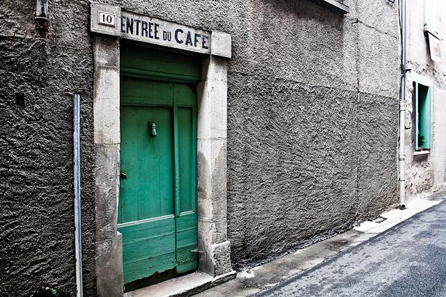 ENTRÉE du CAFÉ