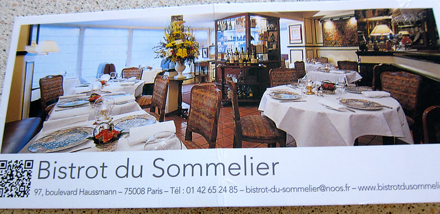 Bistrot du Sommelier Restaurant in Paris