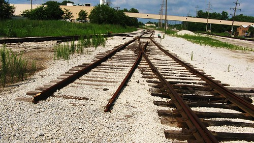 The former Chicago & Illinois Western / Illinois Central Crawford Yard closed and abandoned. Chicago Illinois USA. August 2011. by Eddie from Chicago