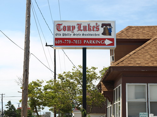 Tony Luke's sign