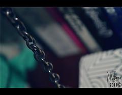 (@ShaymaBM) Tags: nikon books chain learning learn 4365 d3100