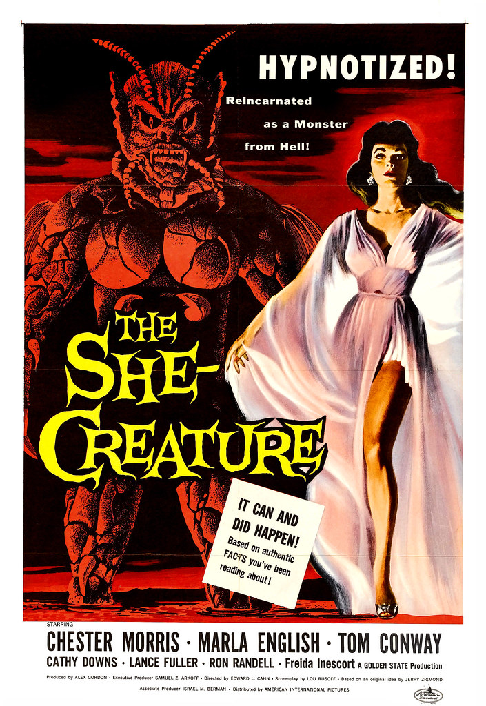 Albert Kallis - The She-Creature (American International, 1956) One Sheet