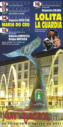 Cee 2011 - Festas da Xunqueira - cartel