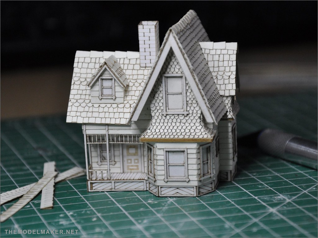 Carl S House Scale Model From Pixar Up Themodelmaker