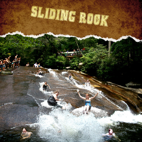 CampingScrapbook-Sliding rock
